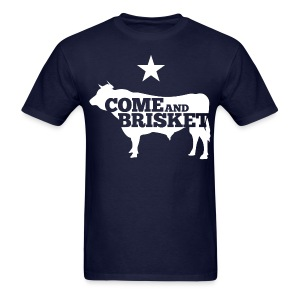 COME AND BRISKET (White) - Men's T-Shirt