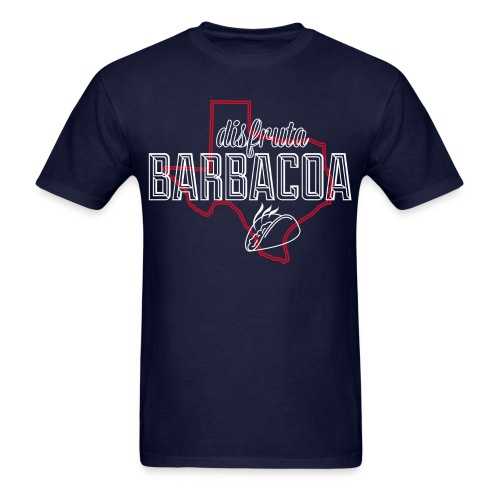 Disfruta Barbacoa (Enjoy Barbecue) - Men's T-Shirt