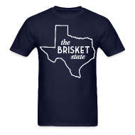 T-Shirts ~ Men's T-Shirt ~ The Brisket State