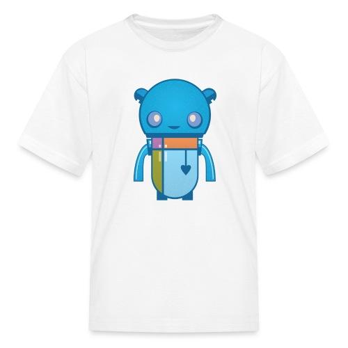 Blue Robot T-Shirt - Kids' T-Shirt