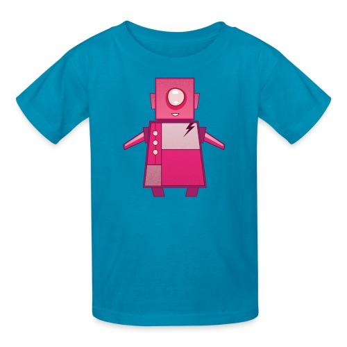 Pink Robot T-Shirt - Kids' T-Shirt