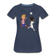 T-Shirts ~ Women's Premium T-Shirt ~ Women T-Shirt - Goal of a Champions 2014