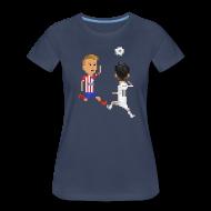 Women's T-Shirts ~ Women's Premium T-Shirt ~ Women T-Shirt - Goal of a Champions 2014