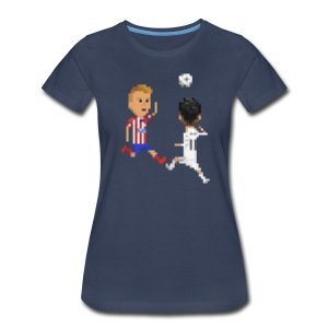 Women T-Shirt - Goal of a Champions 2014 - Women's Premium T-Shirt