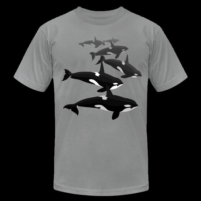 Orca T-shirts Killer Whale Art Jersey Shirts