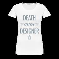Women's T-Shirts ~ Women's Premium T-Shirt ~ D.O.D. [metallic silver]