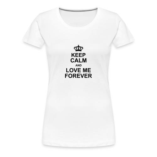 love_me_forever - Women's Premium T-Shirt