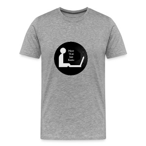 More than just books - Men's Premium T-Shirt