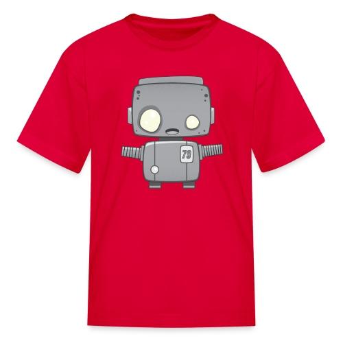 Grey Robot T-Shirt - Kids' T-Shirt