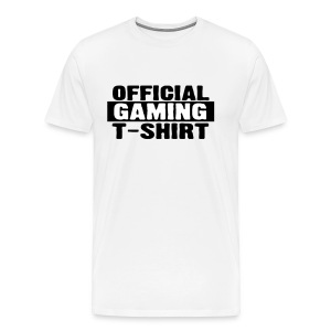 Official Gaming Tee - Men's Premium T-Shirt