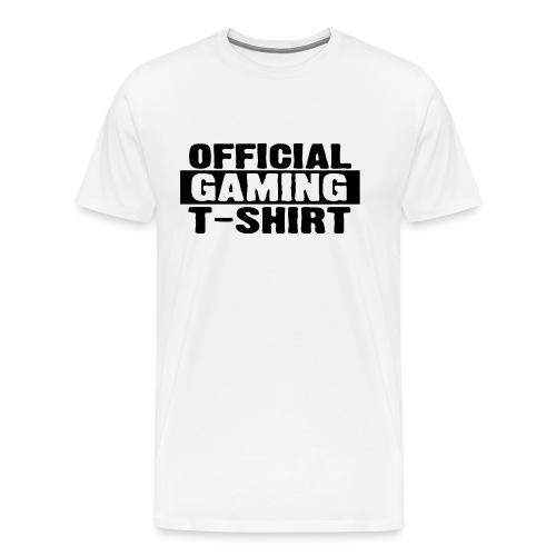Official Gaming Tee - Men's Premium T-Shirt