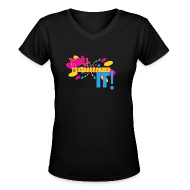 Women's T-Shirts ~ Women's V-Neck T-Shirt ~ You Tried It