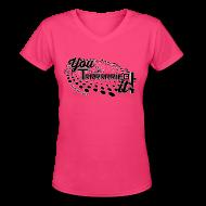 Women's T-Shirts ~ Women's V-Neck T-Shirt ~ Article 15953996