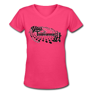 T-Shirts ~ Women's V-Neck T-Shirt ~ Article 15953996