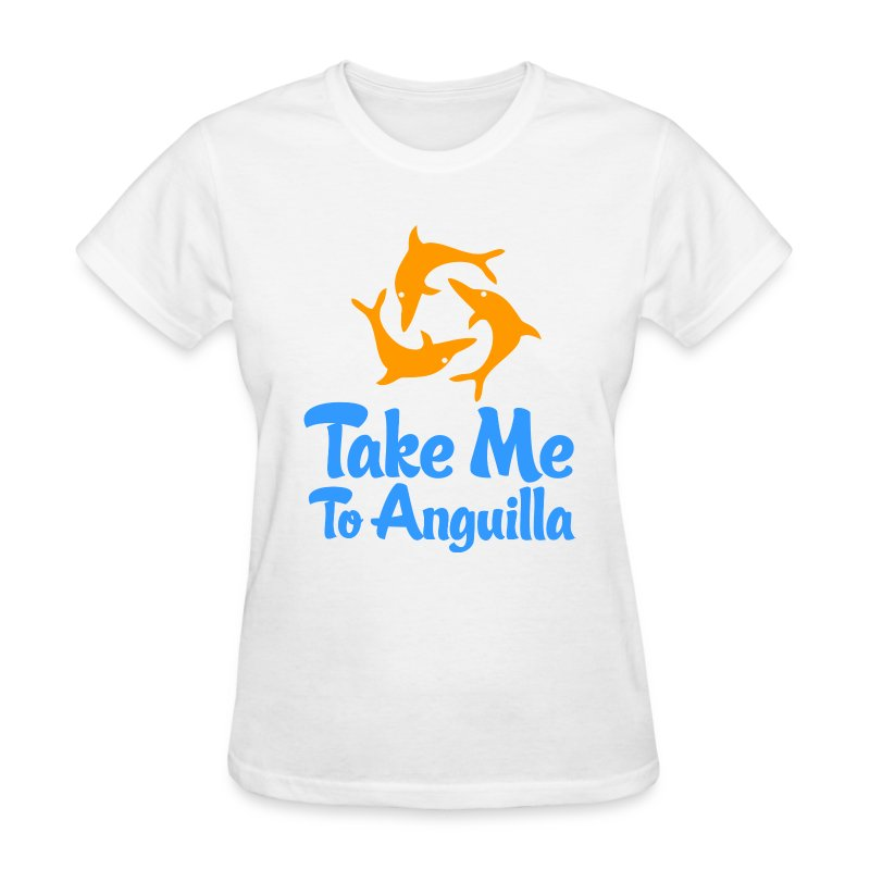 Take me to anguilla t shirt spreadshirt for Talk texan to me shirt