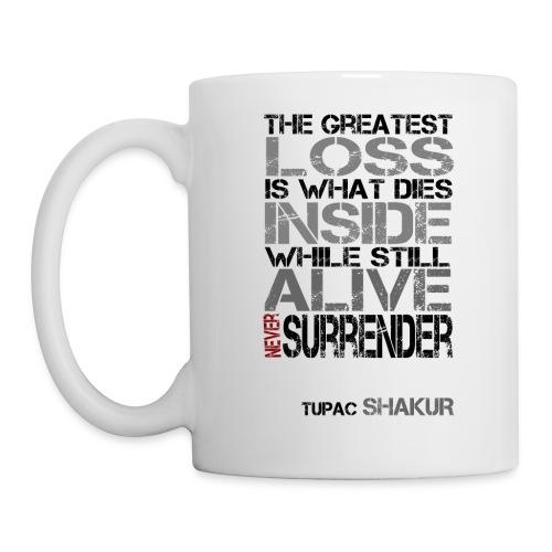 Never Surrender Mug - Coffee/Tea Mug