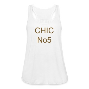 CHIC No 5 T-shirt - Women's Flowy Tank Top by Bella