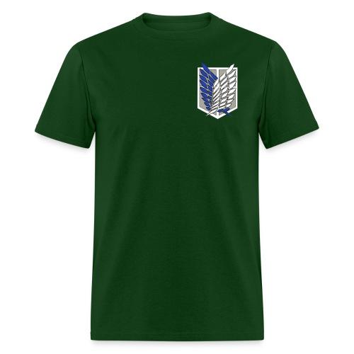 Attack on Titan (Front & Back Logo) - Men's T-Shirt