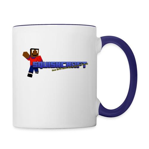 Squishcraft Premium Logo - Contrast Coffee Mug