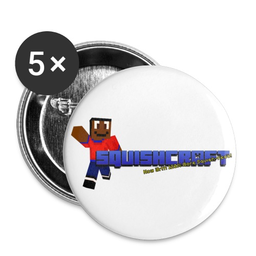 Squishcraft Premium Logo - Large Buttons