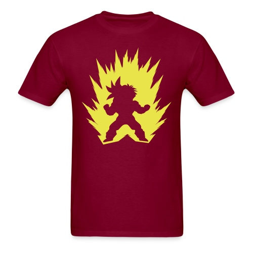 Cartoon Fighter DBZ - Men's T-Shirt