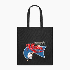 Worlds Allstar Dad Baseball park Flag Bags & backpacks