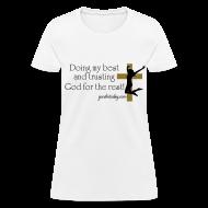 T-Shirts ~ Women's T-Shirt ~ Trust in God