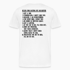 10 Rules For Dating My Daughter T-shirt For Dad
