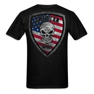 Stars and Stripes Distressed - Men's T-Shirt