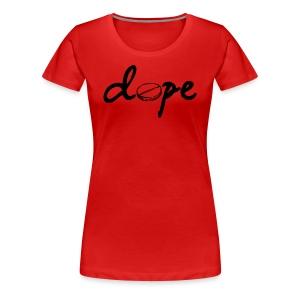 dope tablet - Women's Premium T-Shirt