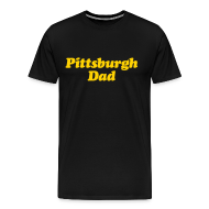 T-Shirts ~ Men's Premium T-Shirt ~ Pittsburgh Dad Premium T-Shirt