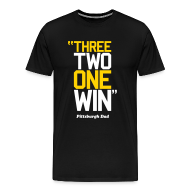 T-Shirts ~ Men's Premium T-Shirt ~ 3-2-1 WIN Variant T-Shirt