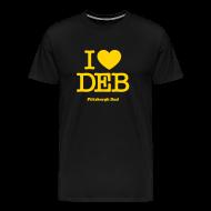 T-Shirts ~ Men's Premium T-Shirt ~ I Heart Deb T-Shirt