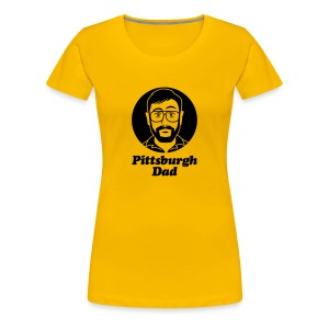 Pittsburgh Dad Women's T-Shirt - Women's Premium T-Shirt