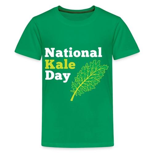 Kale Kids Green T - Kids' Premium T-Shirt