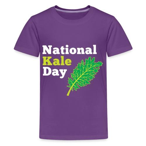 Kale Kids Purple T - Kids' Premium T-Shirt