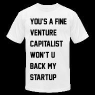 T-Shirts ~ Men's T-Shirt by American Apparel ~ Back That...