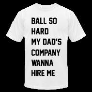 T-Shirts ~ Men's T-Shirt by American Apparel ~ Ni**as in Paris