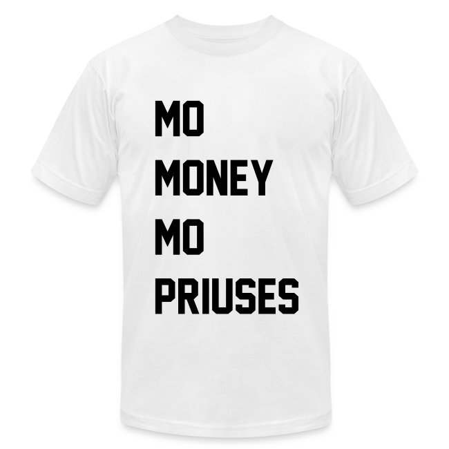 Money & Priuses...