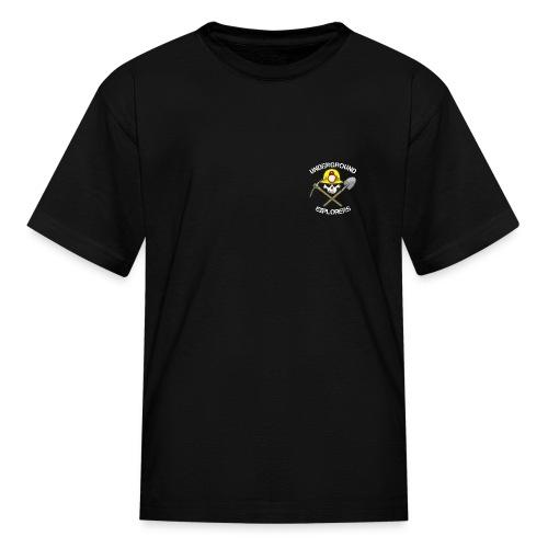 Underground Explorers Kids Logo Tee - Kids' T-Shirt