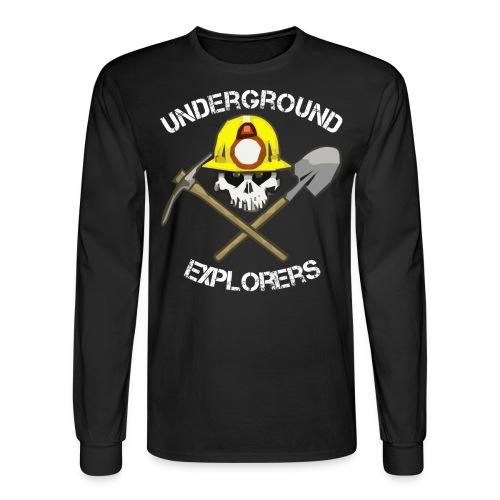 Underground Explorers Long Sleeve Big Logo Tee - Men's Long Sleeve T-Shirt