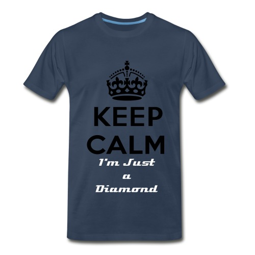 Keep Calm Diamond - Men's Premium T-Shirt