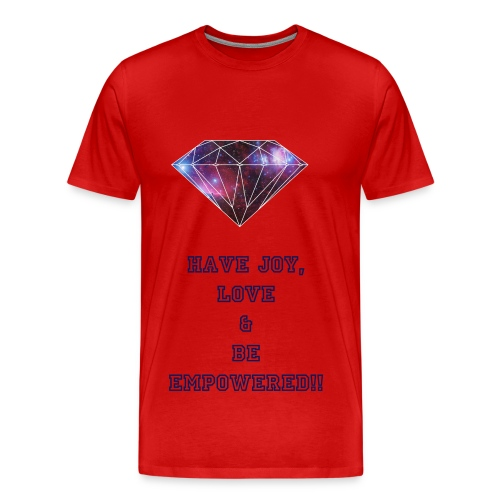 Be Empowered Tee Red - Men's Premium T-Shirt