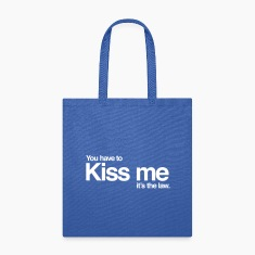 Kiss me it's the law Bags & backpacks