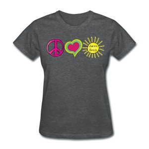 Peace Love Summer Break - Women's T-Shirt
