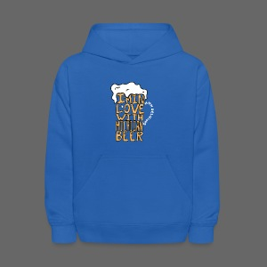 I'm In Love With Michigan Beer - Kids' Hoodie