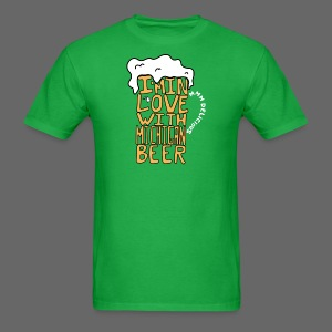 I'm In Love With Michigan Beer - Men's T-Shirt