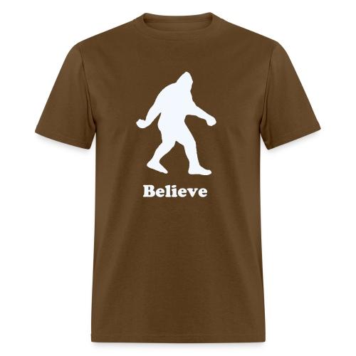Men's Bigfoot Believe T-Shirt - Men's T-Shirt