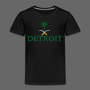 Detroit Saudi Arabia Flag - Toddler Premium T-Shirt