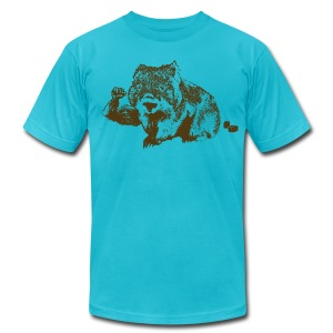 Wombat - Men's T-Shirt by American Apparel